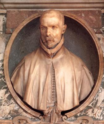 Gian Lorenzo Bernini. Bust of Pedro de Foix Montoya