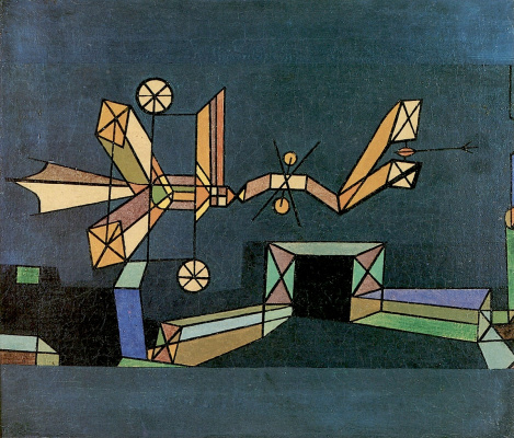 Paul Klee. Arrival of the Air Dragon