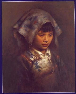 Чжан Ли. Китайская девочка