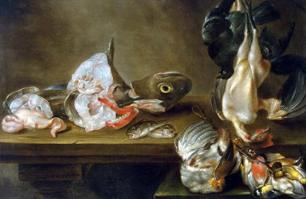 Александр Адриансен. Рыба и дичь