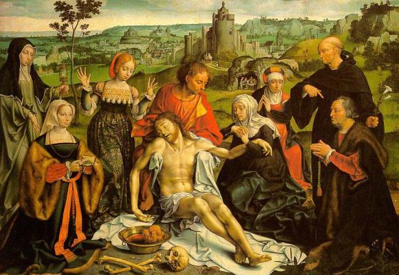 Йос ван Клеве. Снятие со креста