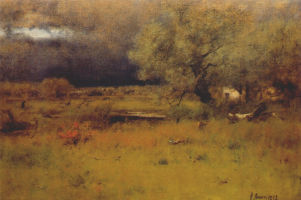 George Innes. The passage of the storm