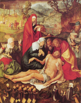Albrecht Durer. Lamentation Of Christ