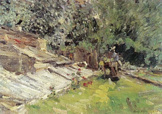 Konstantin Korovin. Greenhouses