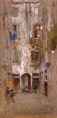 James Abbot McNeill Whistler. Corte del Paradiso