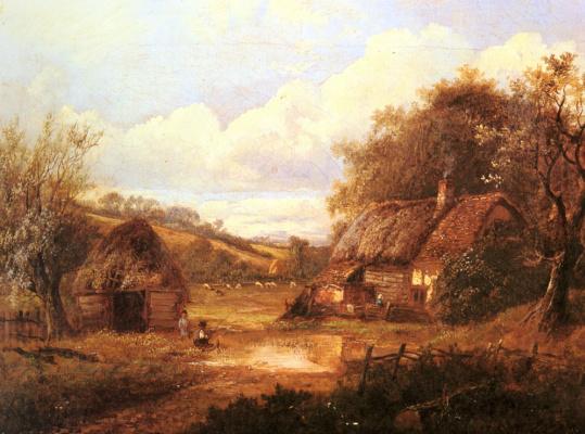 Иосиф Торс. Пейзаж