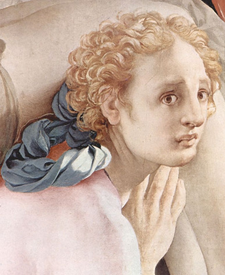 Jacopo Pontormo. Descent from the cross, fragment