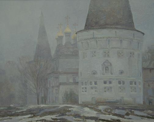 Oleg Borisovich Zakharov. Anarki fog. The Iosifo - Volotsky monastery.