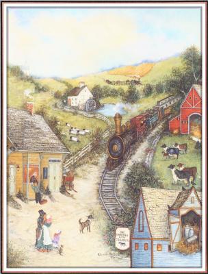 Линда Нельсон Стокс. Летящий орел железной дороги