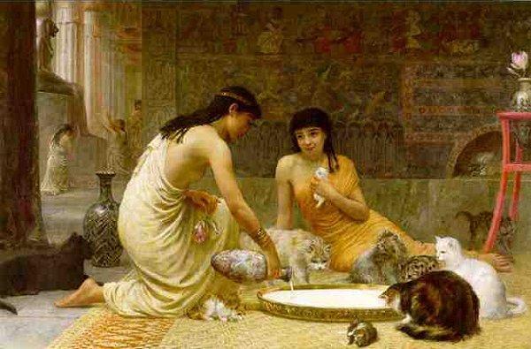 Edwin Longsden Long. Cats