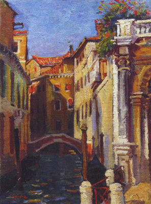 Константин Иванович Горбатов. Венеция. Середина 1910-х.