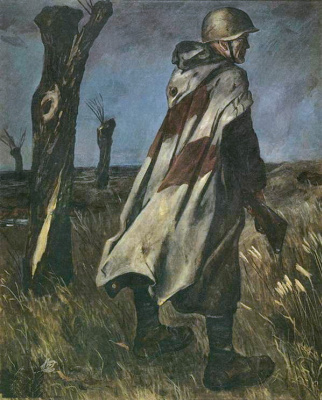 Alexander Alexandrovich Deineka. Soldiers in the Cape