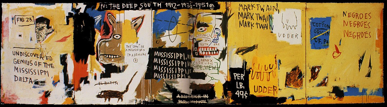 Jean-Michel Basquiat. The unknown genius of the Mississippi Delta