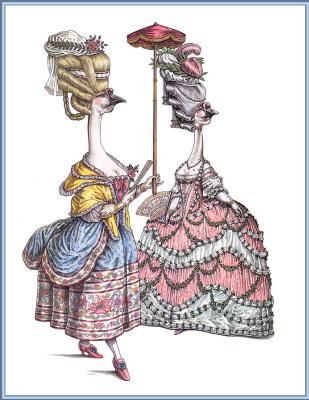 Леонард Любин. Рококо. Людовик XVI. Мария-Антуанетта