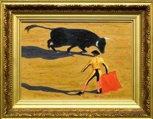 Victor Petrovich Burmin. Bullfight.