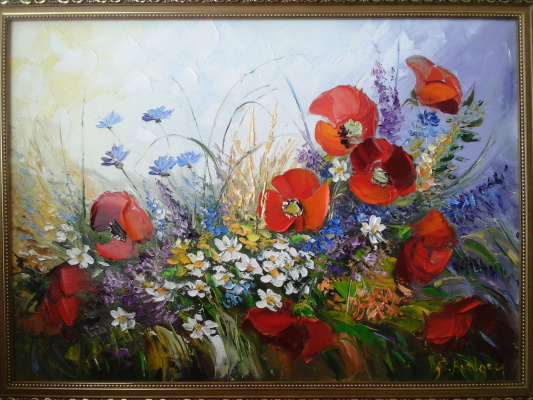 Sergey Burlak. Wildflowers