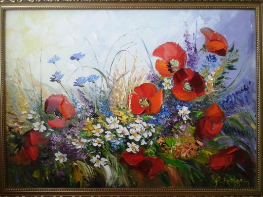 Сергей Бурлаку. Полевые цветы