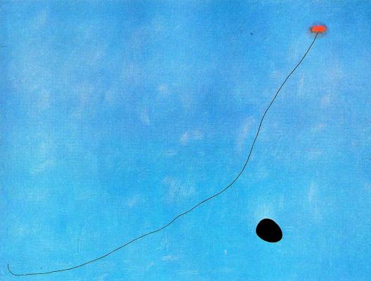 Joan Miro. Blue III