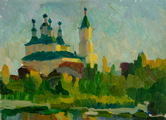 Tanika Yezhova. Russian church