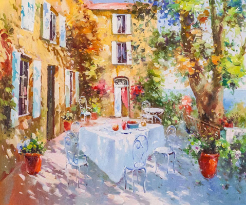 Andrey Sharabarin. On the summer terrace N2