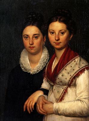 Портрет В. И. и С. И. Мартос