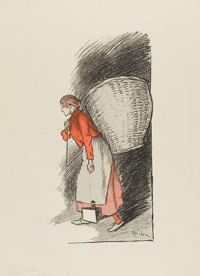 Theophile-Alexander Steinlen. A picker of rags