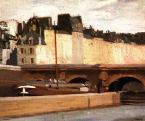 Edward Hopper. The new bridge