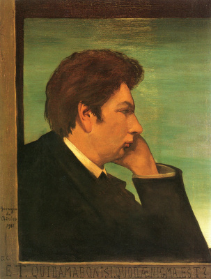 Giorgio de Chirico. Self-portrait