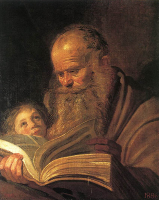 Frans Hals. Saint Matthew