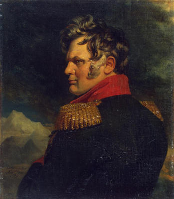 George Dow. Portrait of Alexei Petrovich Ermolov