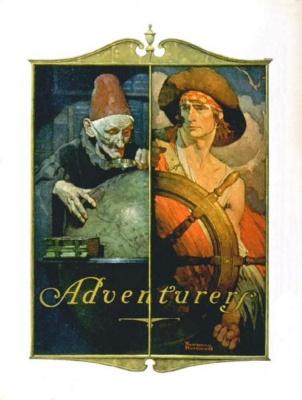 Norman Rockwell. Adventure