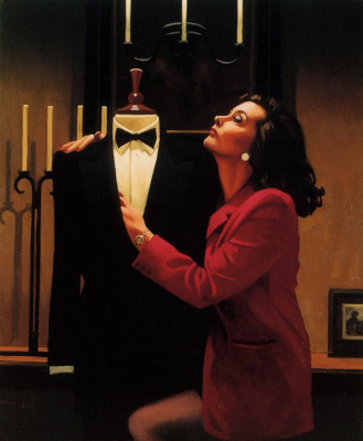 Jack Vettriano. A different kind of love