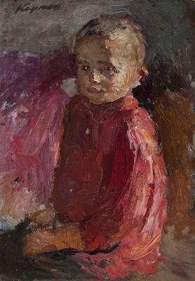 Гелий Михайлович Коржев. Серия «Дети войны»: Мальчик в красной рубахе