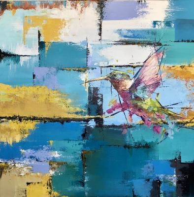 Natalia Shlyakhova. Hummingbird