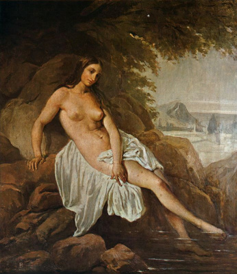 Francesco Ayets. Bather