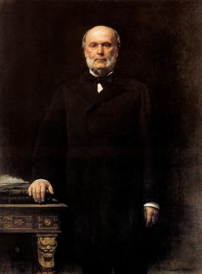 Леон Жозеф Флорантен Бонна. Портрет Жюля Греви