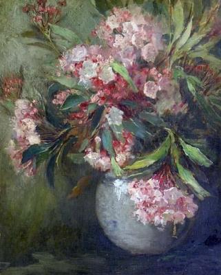 Матильда Браун. Ваза с цветами