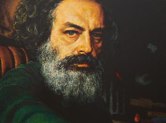 David Shikovich Brodsky. Self-portrait