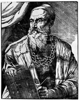 Titian Vecelli. A Self-Portrait Of Titian