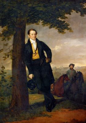 Vasily Andreevich Tropinin. Portrait Of A. I. Baryshnikov