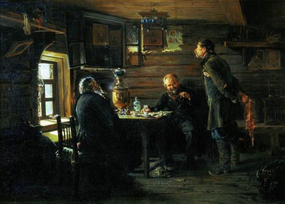 Vladimir Egorovich Makovsky. Lovers of nightingales