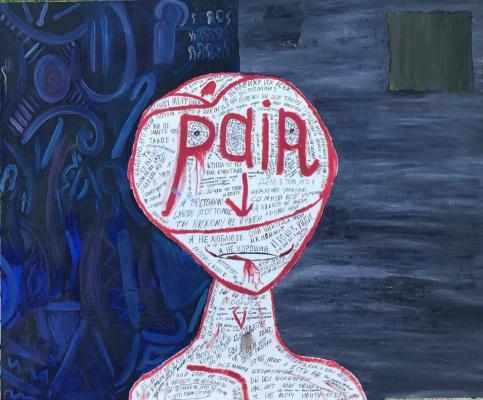 "Fedor Valerievich Sitkovsky. ""Pain: Self-Portraits"""