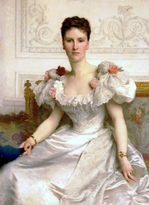 William-Adolphe Bouguereau. The Countess is Cambaceres