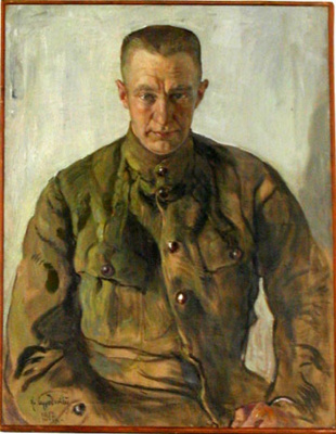 Isaac Brodsky. Portrait of A.F. Kerensky