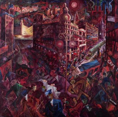 George Grosz. Metropolis