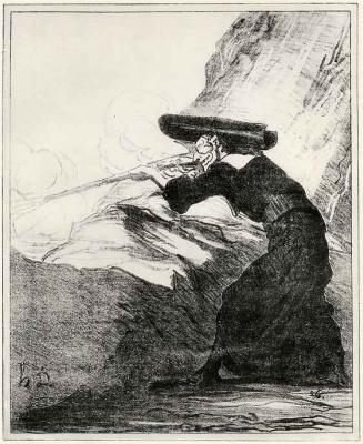 Honore Daumier. A militant Church