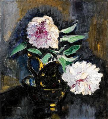 Кес Ван Донген. Розовые пионы