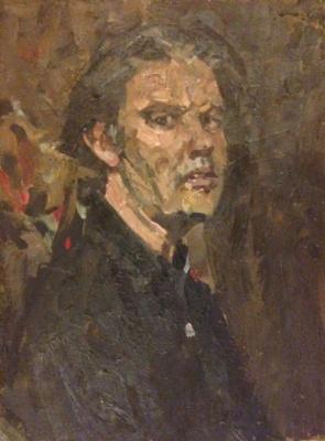 "Yuri Alexandrovich Savinov. ""Self-portrait"""