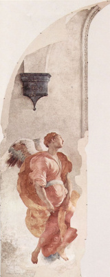 Jacopo Pontormo. Angel of the Annunciation