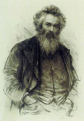 Василий Васильевич Матэ. Портрет И. И. Шишкина